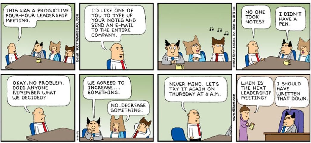 reuniones con exito