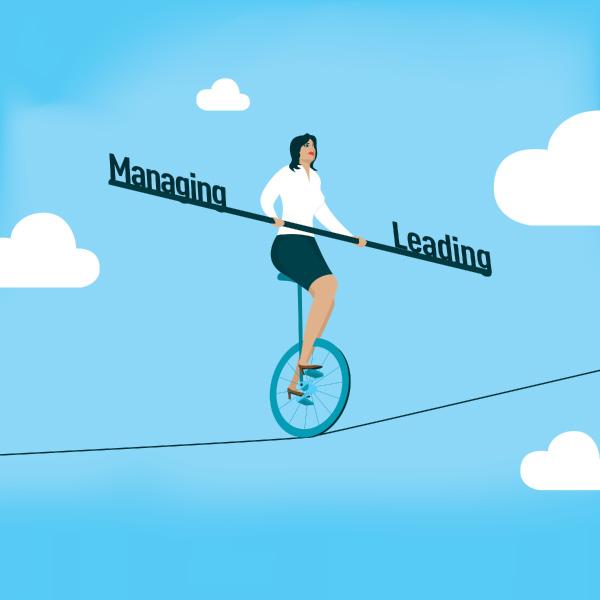líder o manager - liderazgo o gestión