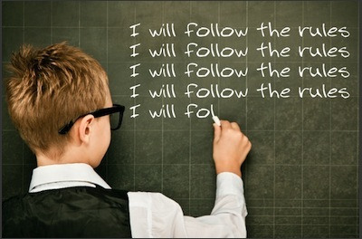 seguiré las reglas