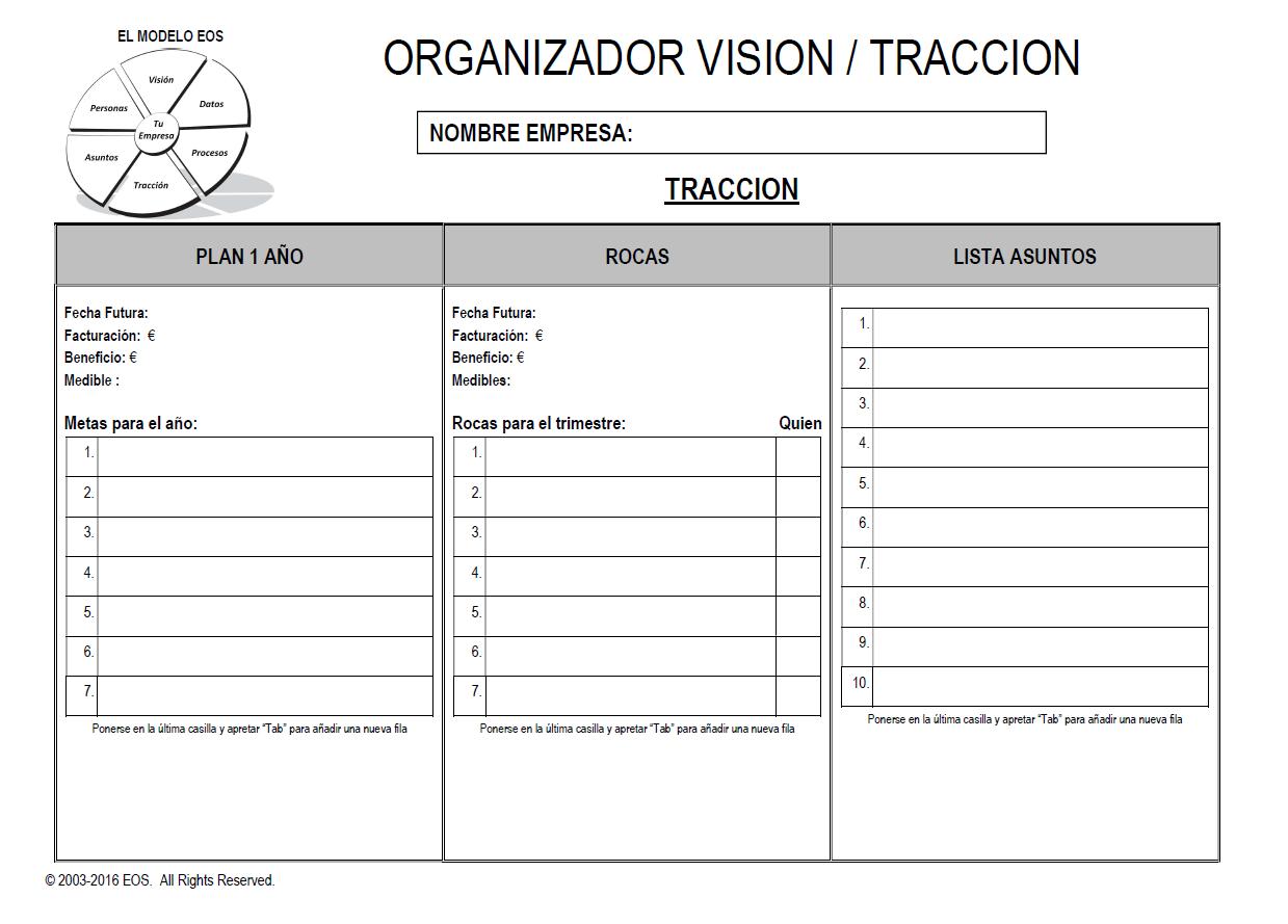 VTO - Tracción
